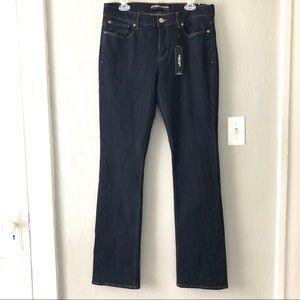 NWT Express Barely Boot Mia Mid Rise Jeans Sz 12L
